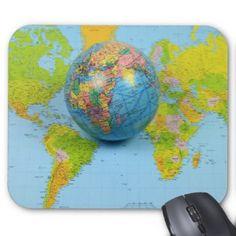 World Traveler Mousepad #World #Traveler #Mousepad by @alexiotzovphotograph #mouse #pad at @Zazzle/alexiotzovphotograph .