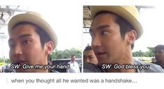 As expected of Siwon lol