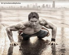 Great perspective shot for fitness