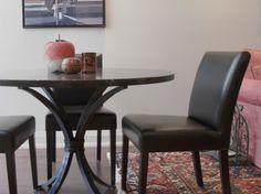 Custom table for Yorkville Condo Project | Toronto Designer | Cori Halpern Interiors
