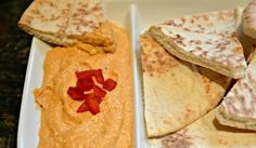 Not only a brilliant source of protein and other nutrients, this hummus is also delicious thanks to a zip of flavour from roasted red pepper.