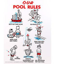 Our Pool Rules Pool Sign Pool Pinterest Pool Rules Pool Signs And Swimming Pools