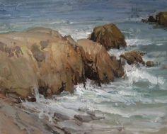 """""""Seascape"""". Joshua Clare."""