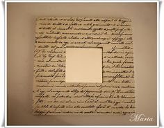 Do something like this with classic book pages.