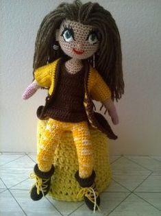 Amigurumi Doll, Teddy Bear, Dolls, Crochet, Animals, Baby Dolls, Animales, Animaux, Puppet