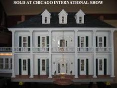 Image result for colonial dollhouse mansion