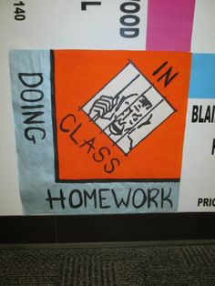 Floor decs theme: board games Monopoly Missouri State version Homecoming Decorations, Homecoming Themes, Monopoly Themed Parties, Monopoly Party, Classroom Crafts, Classroom Themes, Spirt Week Ideas, Monopoly Classroom, Homecoming Hallways