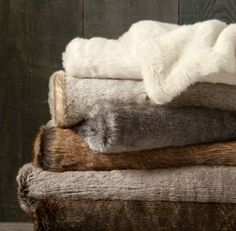 Pin for Later: 31 Gifts Apartment Dwellers Will Appreciate Faux Fur Throw Restoration Hardware Luxe Faux Fur Throw ($79-$139, originally $99-$169)