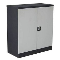 Diamond Sofa - Low Profile Storage Locker Cabinet in Off White/Dark Grey with Key Lock Entry only  $179.99 athttp://www.thebestdealsonline.com/