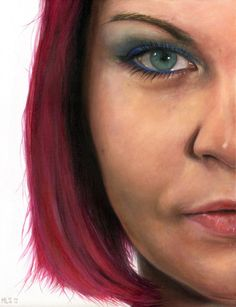 "Saatchi Online Artist: Martin Lynch-Smith; Acrylic, Painting ""Marianne"""