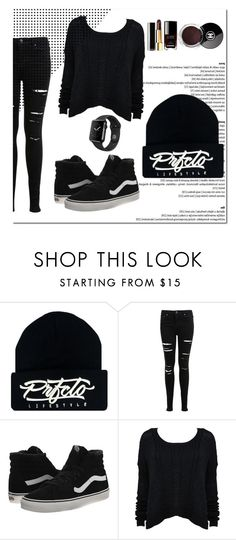 """PrfctoLifestyle"" by prfctolifestyleclothing on Polyvore featuring Miss Selfridge, Vans, Alice + Olivia and Chanel"