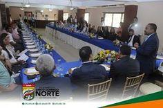 Alcalde Rene Polanco insta a empresarios a creer en Santo Domingo Norte