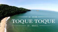 Toque Toque Pequeno [HD Drone], São Sebastião, SP Brasil