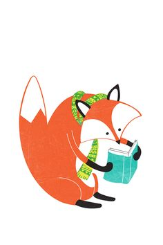 Fox Illustration ★ Find more autumn & other seasonal wallpapers for your #iPhone + #Android @prettywallpaper