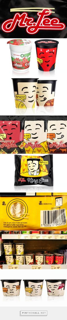 Design Bridge #packaging work for Mr Lee before and after curated by Packaging Diva PD created via http://www.designbridge.com/our-work/mr-lee/