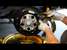 114 best car repair images on pinterest car brake repair car 2003 2007 honda accord rear shoes remove and install youtube fandeluxe Image collections