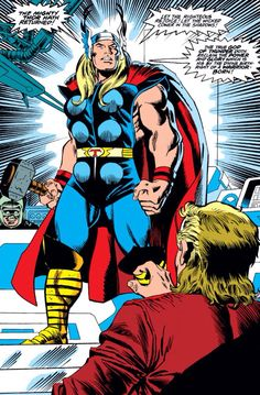 The real Thor is back in Asgard! Eric Masterson unconsciously kept him in his soul since his merge with the God of Thunder, but now is time for a new life for both (1993 - Thor #457)