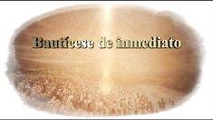 【Español,Spanish】 Bautícese de inmediato, Iglesia de Dios sociedad misionera mundial