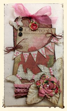 Spring tag - playswellwithpaper.blogspot.com