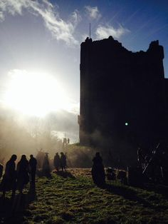 New BTS pictures of Outlander