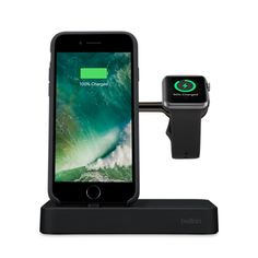 Belkin Valet Charge Dock for Apple Watch + iPhone - Apple