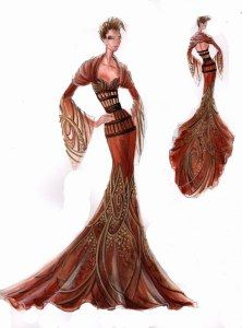 Blanka Matragi – sketch of dresses Posted on 27/11/2011 by luxussilk