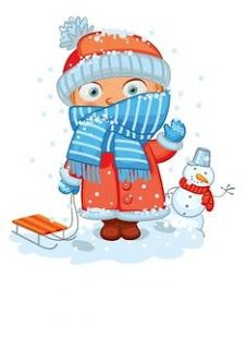 """Photo from album """"Времена года"""" on Yandex. Colegio Ideas, Winter Clipart, Winter Illustration, Weather Seasons, Cute Clipart, Maria Jose, Christmas Drawing, School Decorations, Months In A Year"""