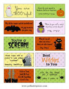 Halloween Lunchbox Printables   Scribd