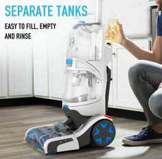 Hoover SmartWash – a worthy automatic carpet cleaner, - Top Trends Carpet Cleaner Vacuum, Pet Carpet Cleaners, Vacuum Cleaners, Steam Vacuum, Carpet Trends, Clean Machine, Diy Carpet, Cleaning Solutions, How To Clean Carpet