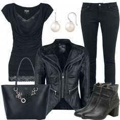 Freizeit Outfits: SchwarzePerle bei FrauenOutfits.de