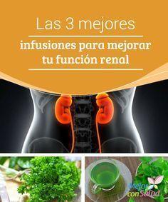 Las 3 mejores infusiones para mejorar tu función renal Además de beber abundante agua para depurar los riñones también es interesante tomar estas infusiones, cuyos ingredientes nos ayudarán a que la limpieza sea más efectiva