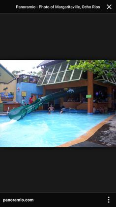Ochos Rio Jamaica Margaritaville. I loved this slide!