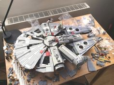 Falcon WIP - Figuring out the hull | There is still quite a … | Flickr
