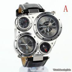 50 OFF Mens Watch Quartz  Watch LeatherF001 by WatchJewelrySALE, $18.99