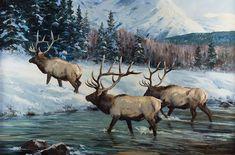 Jackson Hole Art Auction: Miles to Go