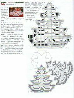 Winter Weihnachten häkeln -  crochet x-mas