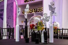 Company Combo Party Perfect Party, Corporate Events, Event Planning, Candles, Corporate Events Decor, Candy, Candle Sticks, Candle