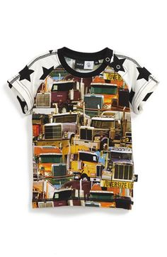 Edgy Truck Print T-Shirt
