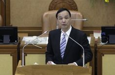 朱立倫就任國民黨主席:將推動兩岸和平發展 | 港澳台 | 香港南華早報