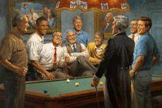 Lyndon B. Johnson, Bob Baker, Barack Obama, Franklin Delano Roosevelt, Harry Truman, Shade Conner, Bill Clinton, Gail Adams, Jimmy Carter, George Washington, Andrew Jackson, Woodrow Wilson and John F. Kennedy.