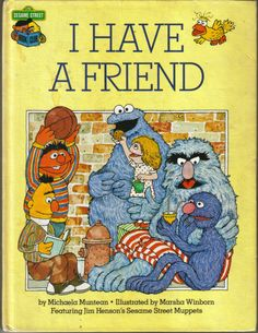 Vintage  I Have A Friend   Featuring Jim by ShopHereVintage, $10.00