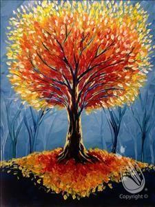 The Glowing Tree   11/4/2016 - Carmel, IN