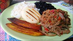 Pabellón criollo venezolano, la receta: Hoy os traigo una receta que es orgullo de mi país. El plato típico nacional por excelencia. Puede ser un...