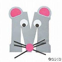 Nalezený obrázek pro Animal Alphabet Letter M craft