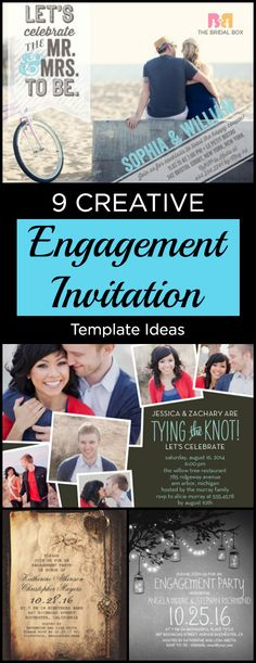Here, I list 10 creative engagement invitation template ideas that will make you want to get engaged even sooner.