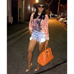 Stylista Marlo Hampton struck a pose on the 'Gram while 'werking' a casual chic ensemble. Outfits With Hats, Chic Outfits, Summer Outfits, Fashion Outfits, Fashion Trends, Fashion Pants, Modest Fashion, Fashion News, Love Fashion