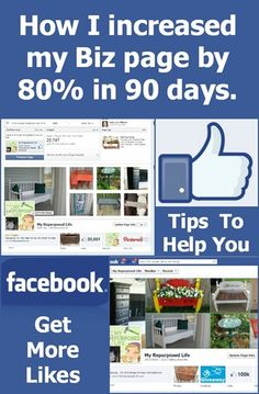 Tips on Growing Your Facebook Page by My {re}Purposed Life.