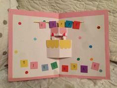 バースデーカード Diy And Crafts, Crafts For Kids, Birthday Cards, Happy Birthday, Diy Cards, Pop Art, Diys, Posters, Collection