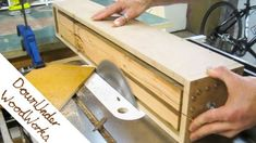 Woodworking Jigs Ultimate list of table saw jigs - If you have ever been using your table saw and thought that there has to be some way to make the job at hand easier, you are probably right. A table saw can do many things, but a table saw with the… Woodworking Ideas Table, Jet Woodworking Tools, Woodworking Jigsaw, Woodworking Techniques, Woodworking Crafts, Woodworking Furniture, Woodworking Store, Woodworking Equipment, Woodshop Tools