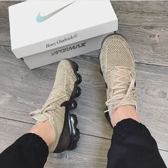 "2,697 Likes, 20 Comments - KICKHEADNEWS STORE (@kickheadnews) on Instagram: ""Nice colour, wintery feel. Nike Air Vapormax 'Khaki/Anthracite' FOR ALL PERSONAL SHOPPING ENQUIRES…"""